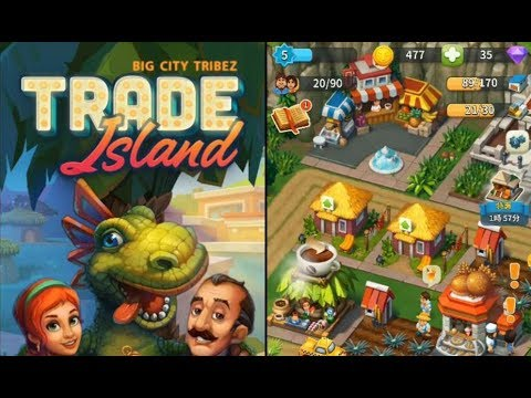 《Trade Island 貿易島》手機遊戲玩法與攻略教學!