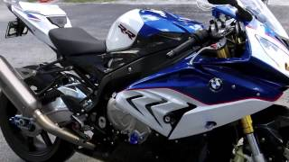 7. Pre-Owned 2015 BMW S 1000 RR Light White, Lupin Blue, Racing Red at Euro Cycles of Tampa Bay