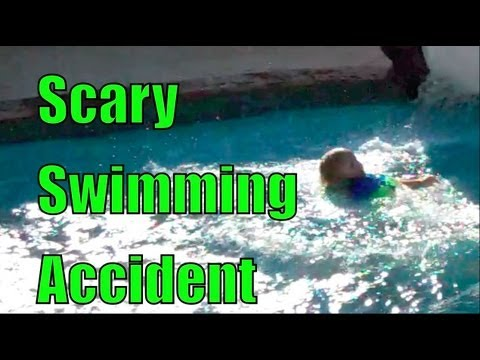 Scary Swimming Accident
