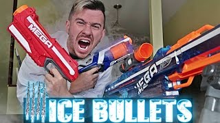 EXTREMELY PAINFUL LIQUID NITROGEN FROZEN NERF BULLETS!! MOST DANGEROUS TOY OF ALL TIME!! Subscribe to JustDustin: https://www.youtube.com/justdustin Follow m...