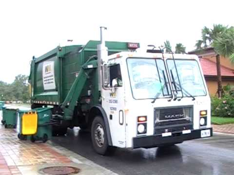 trucks - Various garbage trucks in the Naples, FL area part II.