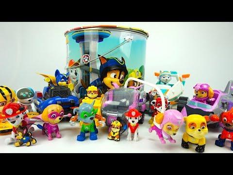 Щенячий патруль игрушки и сюрпризы для детей - DomaVideo.Ru