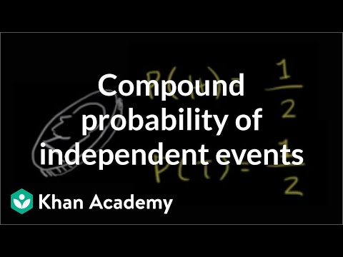 When Did Teaching Independence Become >> Compound Probability Of Independent Events Video Khan Academy