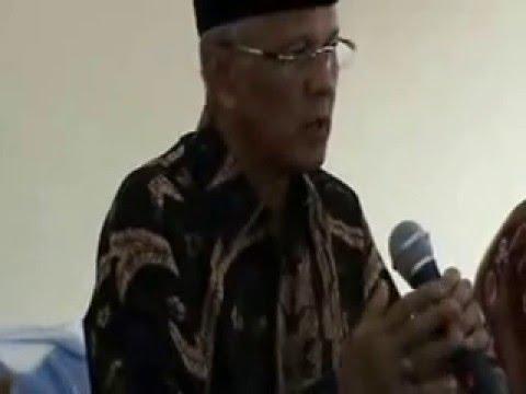 Sambutan Ketua Kopkar Sabilal Muhtadin di acara Pendidikan Dasar Perkoperasian