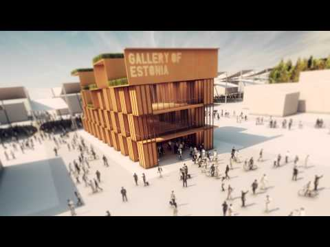 Pavilion of Estonia - Gallery of Eesti @ #Expo2015