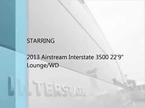 2013 Airstream Interstate 3500 22' Lounge/WD Wardrobe Mercedes Benz ...