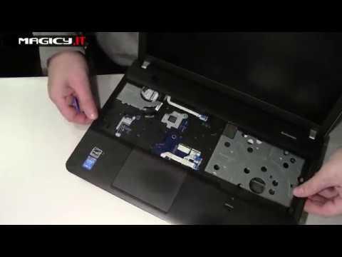 Lenovo ThikPad E540 Disassembly
