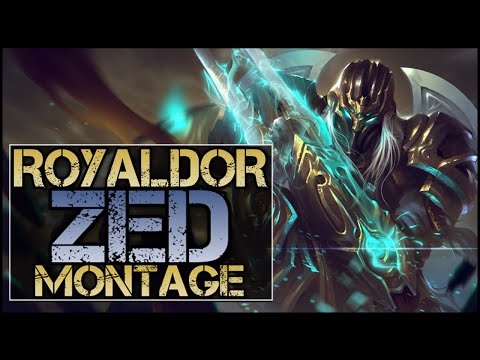Zed biến hóa ảo diệu trong tay RoyalDor