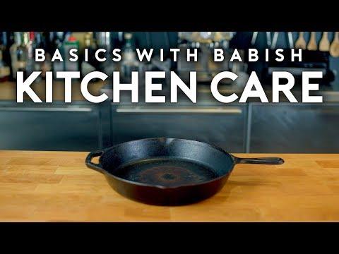 Kitchen Care | Basics with Babish (видео)