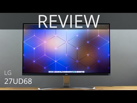 LG 27UD68 4K IPS Monitor REVIEW | TechCentury