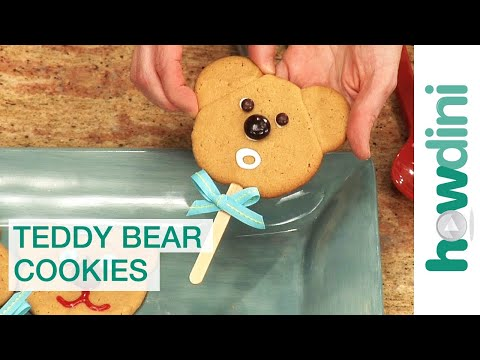 Cookies - http://bit.ly/betty_crocker_youtube Looking for a great activity to do with the kids? Baking these teddy bear cookies is great fun for children and they are ...