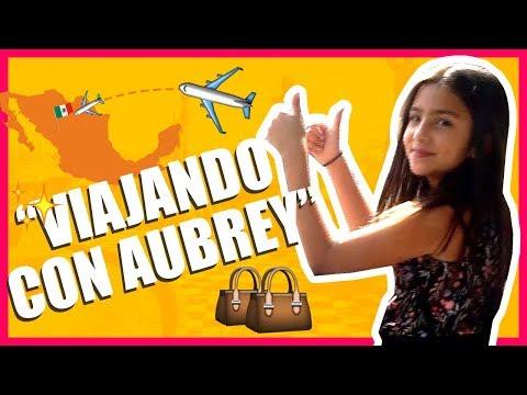 VIAJANDO CON AUBREY SOLAS! - Vlogs diarios - Jackie hernández