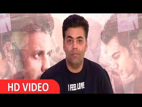 Karan Johar Has Been Exteremely Supportive Of Hansal Mehta's Film Aligarh