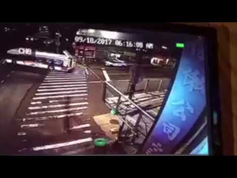 3 Killed as Charter Bus Hits Q20 in Flushing, Video Shows
