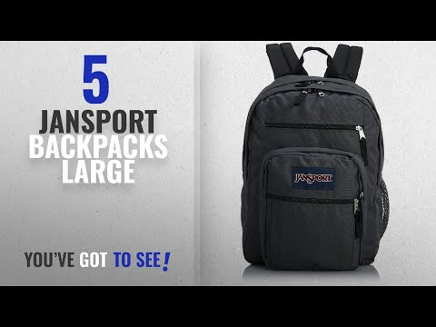 Jansport Backpacks Large [2018 Best Sellers]: JanSport Big Student Classics Series Backpack - Forge