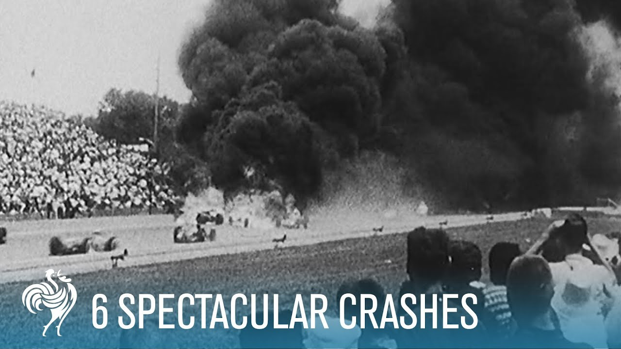 6 Spectacular Crashes | British Pathé