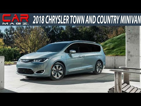 2018 Chrysler Town and Country Minivan Price and Release Date
