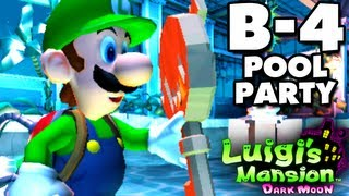 Download Lagu Luigi's Mansion Dark Moon - Haunted Towers - B-4 Pool Party (Nintendo 3DS Gameplay Walkthrough) Mp3