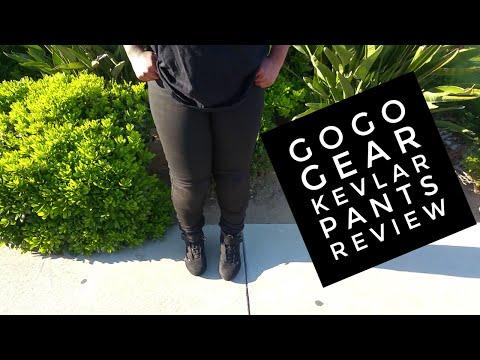 Female Motorcycle Rider | GoGo Gear Kevlar Pants