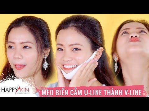 5 Mẹo Hô Biến Cằm U-Line Thành V-Line