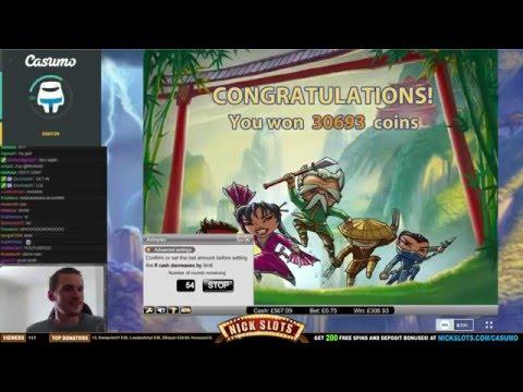 SUPER MEGA WIN On Thunderfist Slot - £0.75 Bet