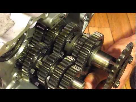 Motorcycle Transmission in action