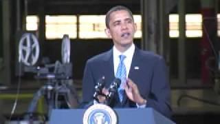 Newton (IA) United States  city photo : President Obama visits Newton, Iowa plant