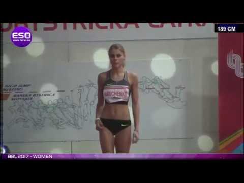 Юлия Левченко. Прыжок на высоте 189см,который принес Юле второе место