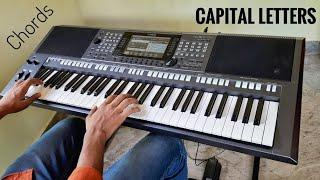 Hailee Steinfeld, BloodPop® - Capital Letters | Keyboard Cover (CHORDS)