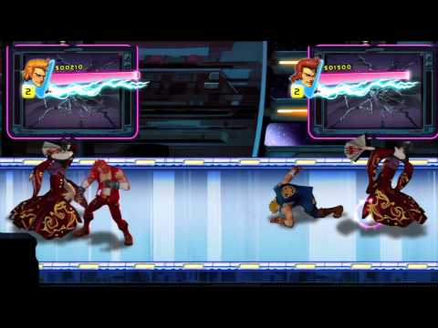 Double Dragon Neon Gameplay 8-31