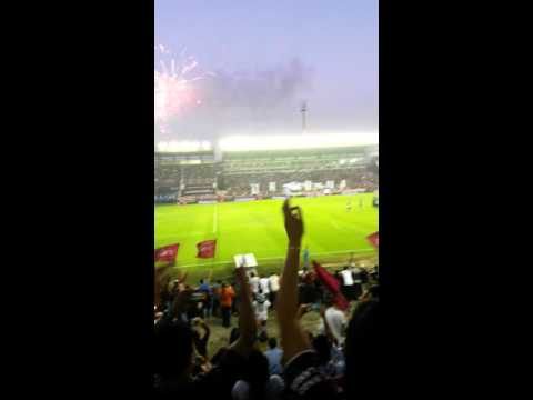 recibimiento lanus vs banfield 2016 - La Barra 14 - Lanús