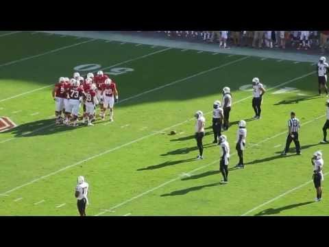 Devon Cajuste 34-yard reception vs Arizona St. 2013 video.