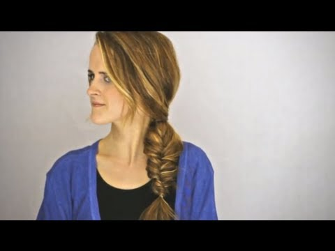 Fancy Fishtail Braid Hair Tutorial