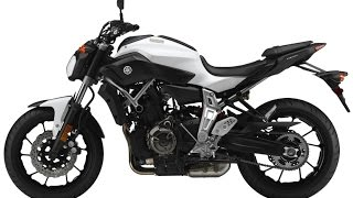 7. 2015 Yamaha FZ-07, Starting at $7,299 comes in three colours: white, matte grey and lipstick red