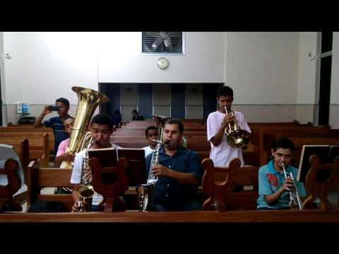 TOCADINHA APOS AULINHA DE MUSICA EM ITABERAI GO HINO 96