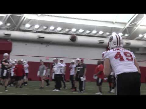 Wisconsin - The Badgers had their first practice under Gary Andersen, who brings a new energy and a new sound to Camp Randall. Music playing throughout practice will be ...
