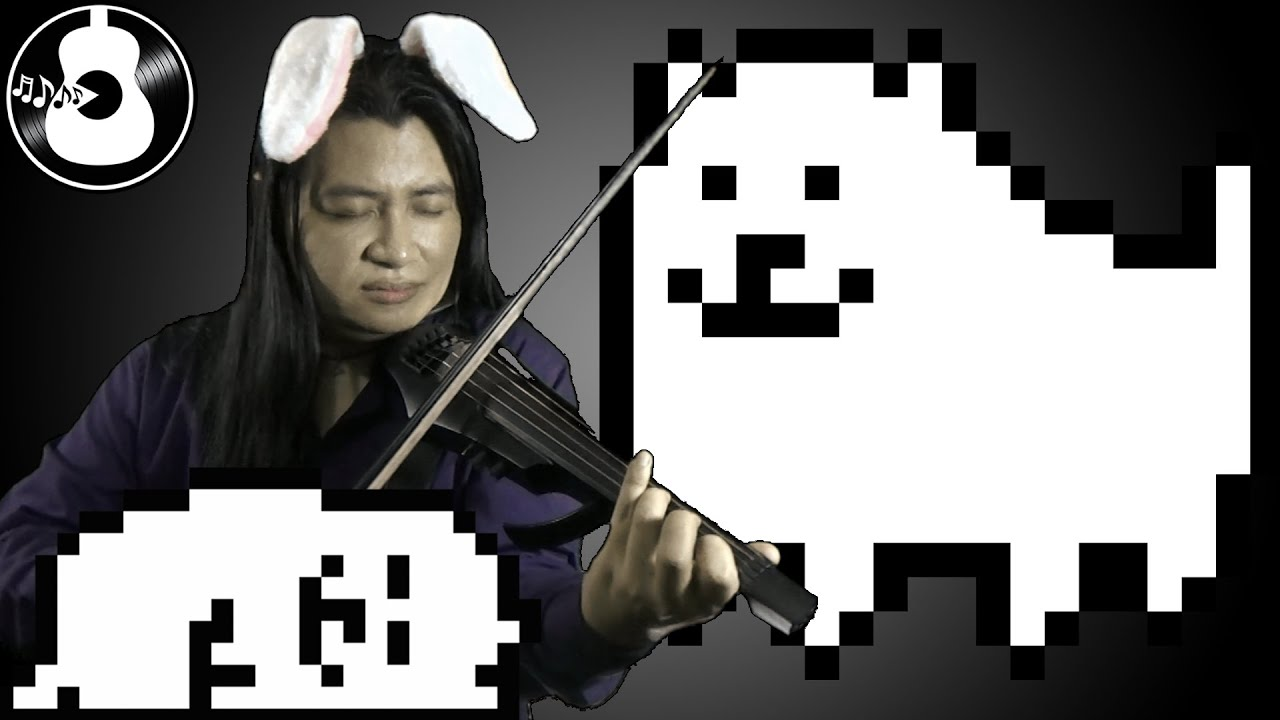 Undertale – Dogsong (Rondo) [Electric Violin/Guitar/Bass Cover/Remix]