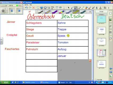 HIŠA jezikov, NEMŠKI JEZIK, po nemško po avstrijsko