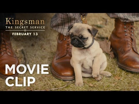 Kingsman: The Secret Service Clip 'Puppy'