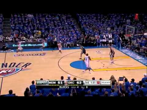 Thunder beat Grizzlies: West Semis Game 7 5/15/2011