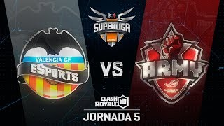 SUPERLIGA ORANGE - VALENCIA C. F. VS ASUS ROG ARMY - Jornada 5 - #SuperligaOrangeCR5