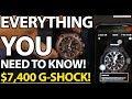 Casio G-Shock MRG MRG-G2000HA Hammer Tone Limited Edition $7,400 G-SHOCK! Review + SYNC DEMO!