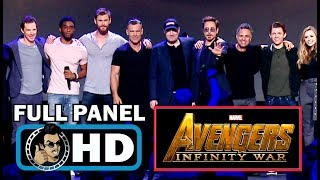 AVENGERS: INFINITY WAR Full D23 Cast Panel & Trailer Introduction (2018)SUBSCRIBE for more Movie Trailers HERE: https://goo.gl/Yr3O86PLOT: The Avengers attempt to save the universe from the brink of destruction as they battle Thanos and his Infinity Gauntlet.CAST: Tom Holland, Karen Gillan, Brie Larson, Robert Downey Jr., Chris Pratt, Scarlett Johansson, Chris Hemsworth, Josh Brolin, Chris Evans, Benedict Cumberbatch, Zoe Saldana, Sebastian Stan, Elizabeth Olsen, Chadwick BosemanCheck out our specific genre movie trailers PLAYLISTS:SUPERHERO/COMIC BOOK TRAILERS: https://goo.gl/SaiXSIANIMATED TRAILERS: https://goo.gl/l6bXaUSEXY TRAILERS: https://goo.gl/oX8yNTHORROR TRAILERS: https://goo.gl/Ue0motCELEBRITY INTERVIEWS: https://goo.gl/1YhJtUJoBlo Movie Trailers covers all the latest movie trailers, TV spots, featurettes as well as exclusive celebrity interviews.Check out our other channels:TV TRAILERS: https://goo.gl/IoWfK4MOVIE HOTTIES: https://goo.gl/f6temDVIDEOGAME TRAILERS: https://goo.gl/LcbkaTMOVIE CLIPS: https://goo.gl/74w5hdJOBLO VIDEOS: https://goo.gl/n8dLt5