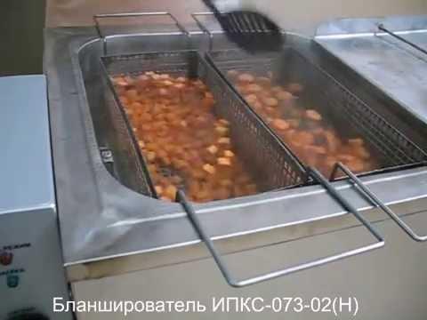 Видео: Бланширователь ИПКС-073-02(Н).