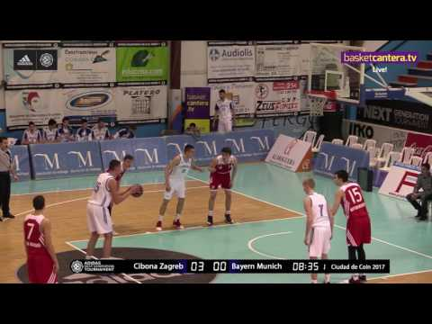 ANGT Coin: U18 Cibona Zagreb vs. U18 FC Bayern Munich - Full Game