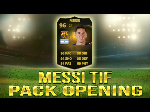 FIFA 15 | PACK OPENING BUSCANDO A MESSI TIF