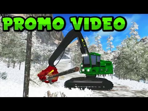FDR Logging - Forestry Equipment v4