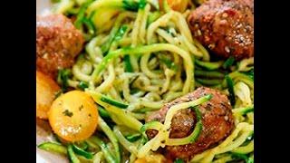 Spaghetti di zucchine senza glutine