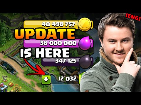 I got 10.000 Gems from Supercell ?! | UPDATE IS HERE | Clash of Clans Autumn Update