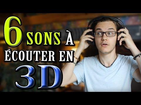 chris - Vous êtes libre de vous abonner à la chaîne: http://bit.ly/1snYXcM Vous connaissez les lunettes 3D. Mais savez-vous qu'avec un simple casque, on peut entendr...
